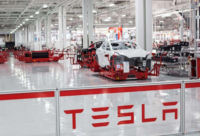 Smart Control Device in Shanghai Tesla Factory