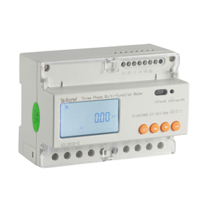 3 phase 4 wire rail type energy meter with modbus protocol ADL3000-E