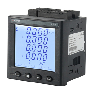 Multifunction three phase AC energy meter